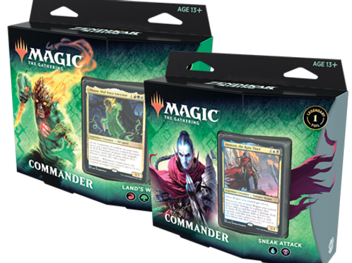 Magic the Gathering CCG: Zendikar Rising Commander Deck