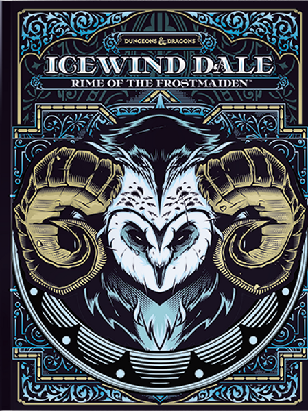 Icewind Dale: Rime of the Frostmaiden Alternative Cover
