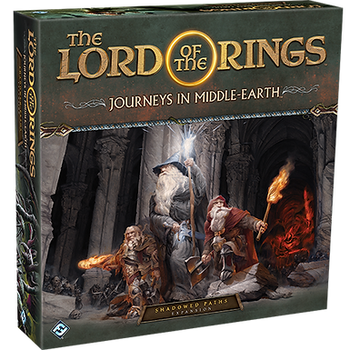 The Lord of the Rings: Journeys in Middle-earth: Shadowed Paths Expansion