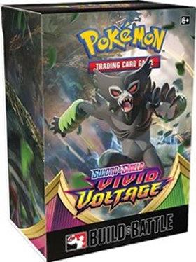 Pokemon Vivid Voltage Build and Battle Box