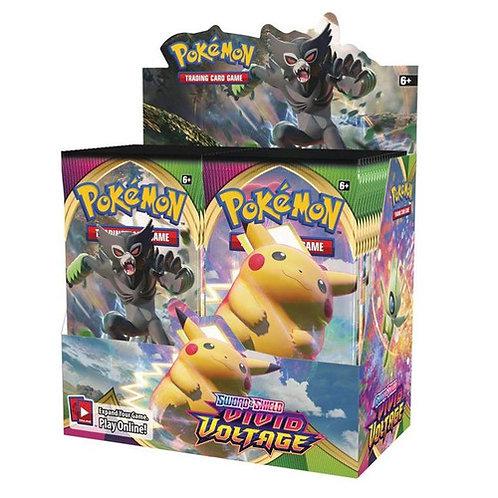 Pokemon Vivid Voltage Booster Display (36)