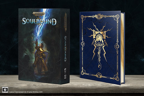 Warhammer Age of Sigmar - Soulbound RPG: Collector`s Edition Rulebook