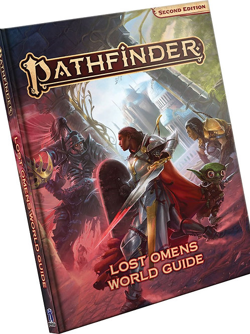Pathfinder RPG: Lost Omens World Guide Hardcover (P2)