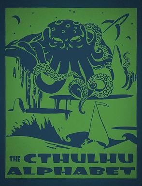 Cthulhu Alphabet - Leather