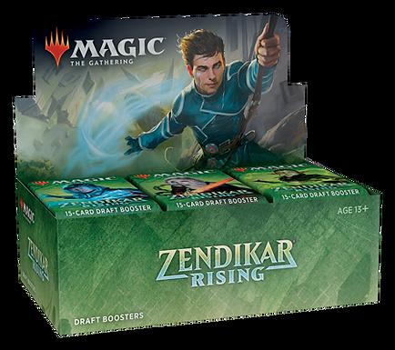 Magic the Gathering CCG: Zendikar Rising Draft Booster Display (36)