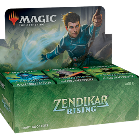 Magic the Gathering CCG: Zendikar Rising Draft Booster Display (36)