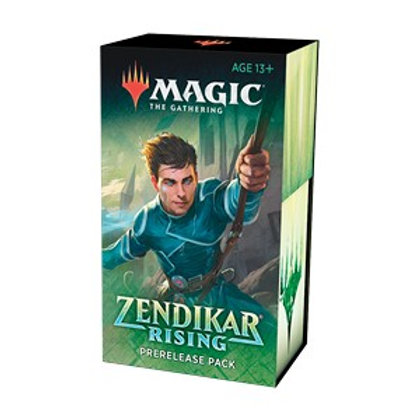 Magic the Gathering CCG: Zendikar Rising Pre-release bundle (6)