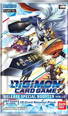 Digimon TGC: Release Special Booster PackVer. 1.0