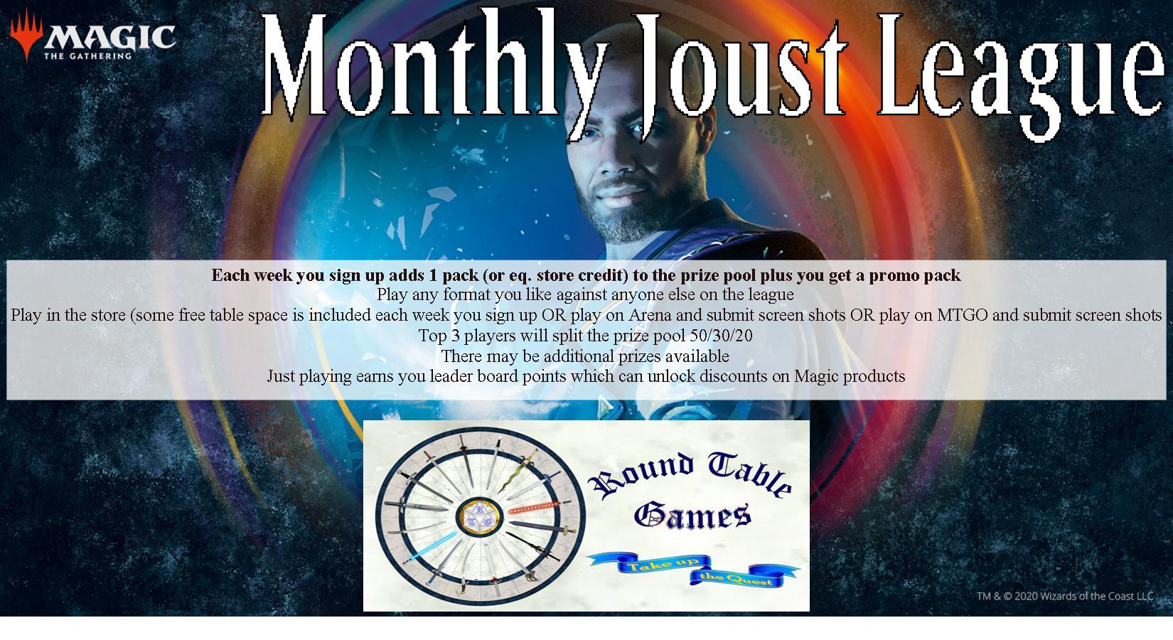 Magic Joust League