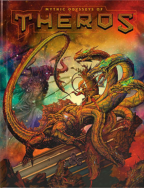 Dungeons and Dragons RPG: Mythic Odysseys of Theros Hard Cover Alt. Art
