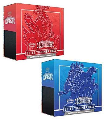 Pokemon Sword & Shield Battle Styles Elite Trainer Box