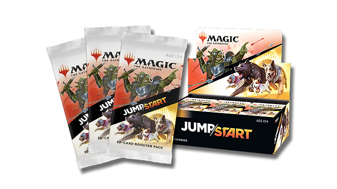 Magic the Gathering CCG: Jumpstart Booster Display (24)