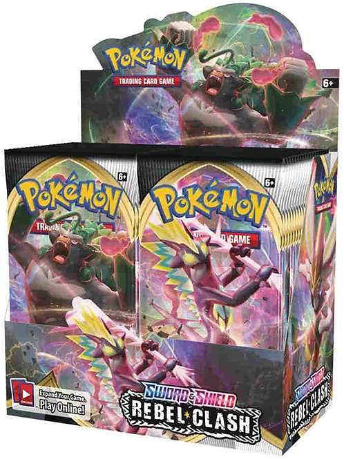Pokemon TCG: Sword & Shield - Rebel Clash Booster Display (36)