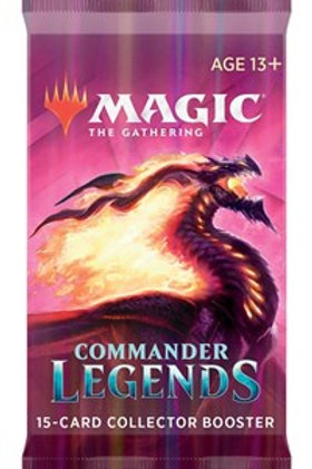 Magic the Gathering CCG: Commander Legends Collector Booster Pack