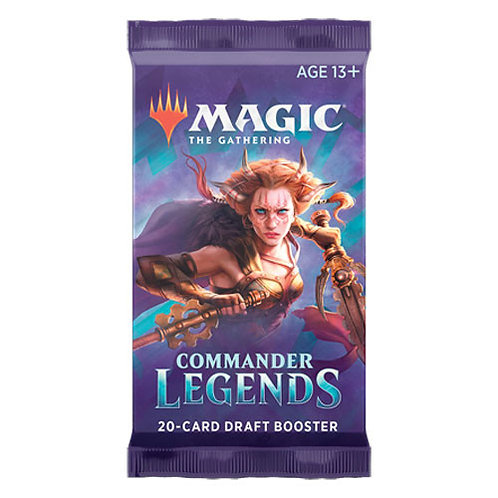 Magic the Gathering CCG: Commander Legends Booster Pack