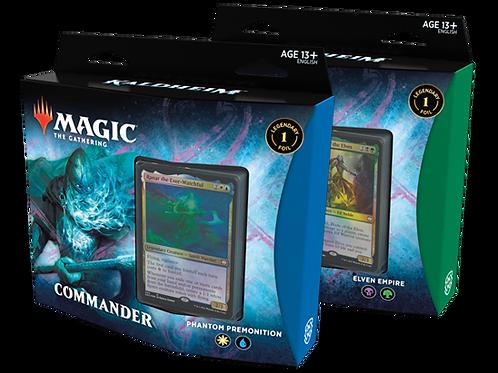 Magic the Gathering CCG: Kaldheim Commander Deck (each)