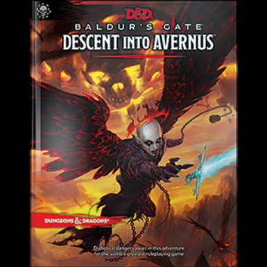 Dungeons and Dragons RPG: Baldur`s Gate - Descent into Avernu