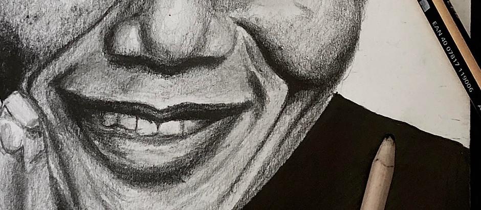 influential figures on black lives : Nelson Mandela