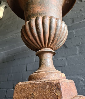 Cast Urn Victorian C19th