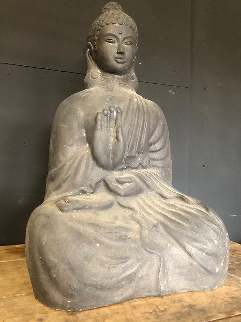 Terracotta young Buddha statue