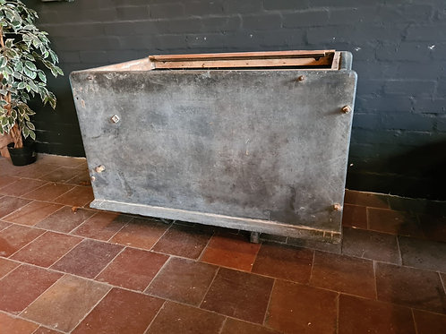 Solid slate meat chest