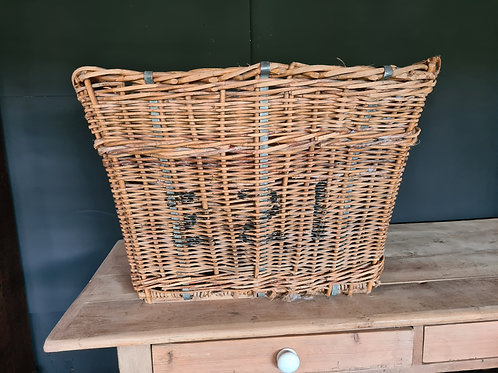 Large Industrial Woven Basket