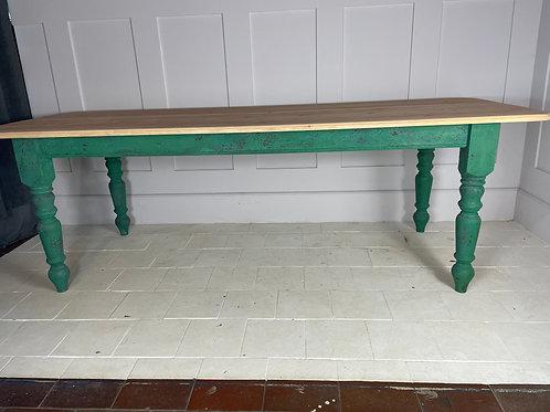 Large farm house table