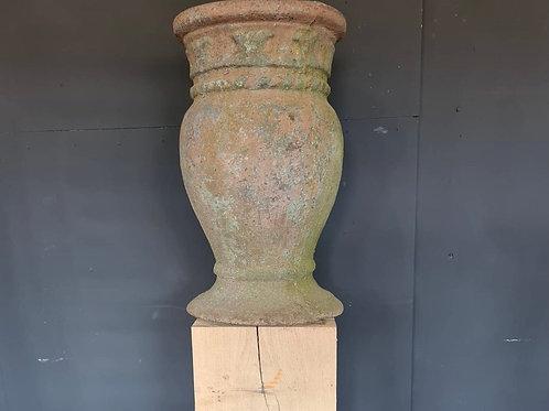 19th century cast iron urn / vase