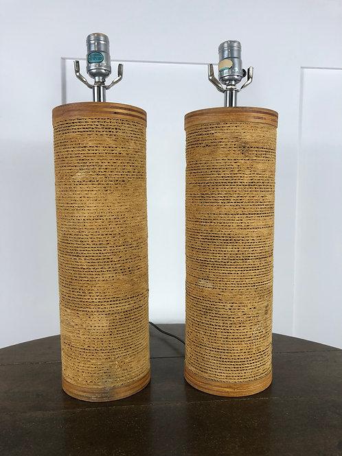 Mid century Gregory Van Pelt lamps