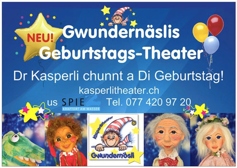Kindergeburtstag Kasperlitheater