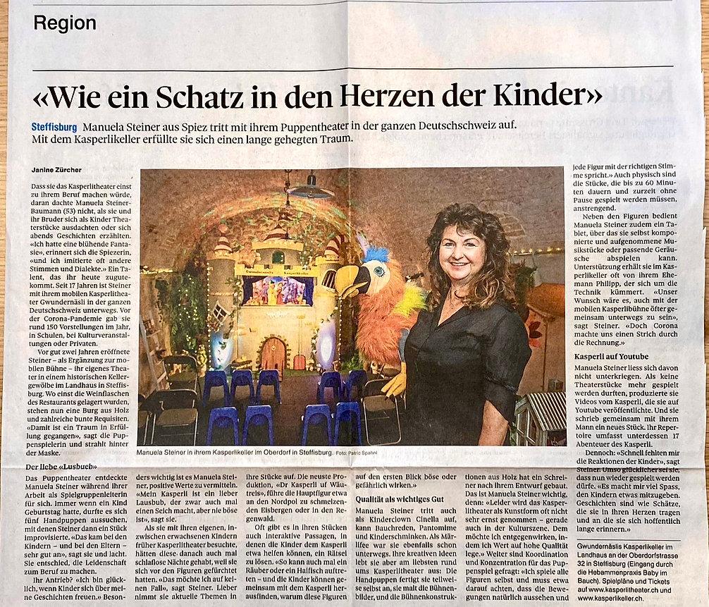 Zeitungsartikel Thuner Tagblatt Kasperlikeller.jpg