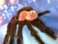 Kasperfigur Spinne