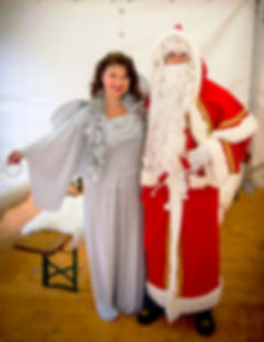 Winterzauber Manuela Steiner und Samichlaus