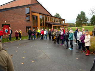 60 demonstranter sto sammen mot helsebyråkratene under markering på Reinsvoll