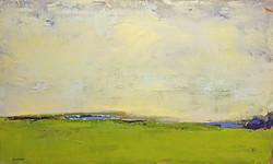 Chartreuse Landscape - SOLD