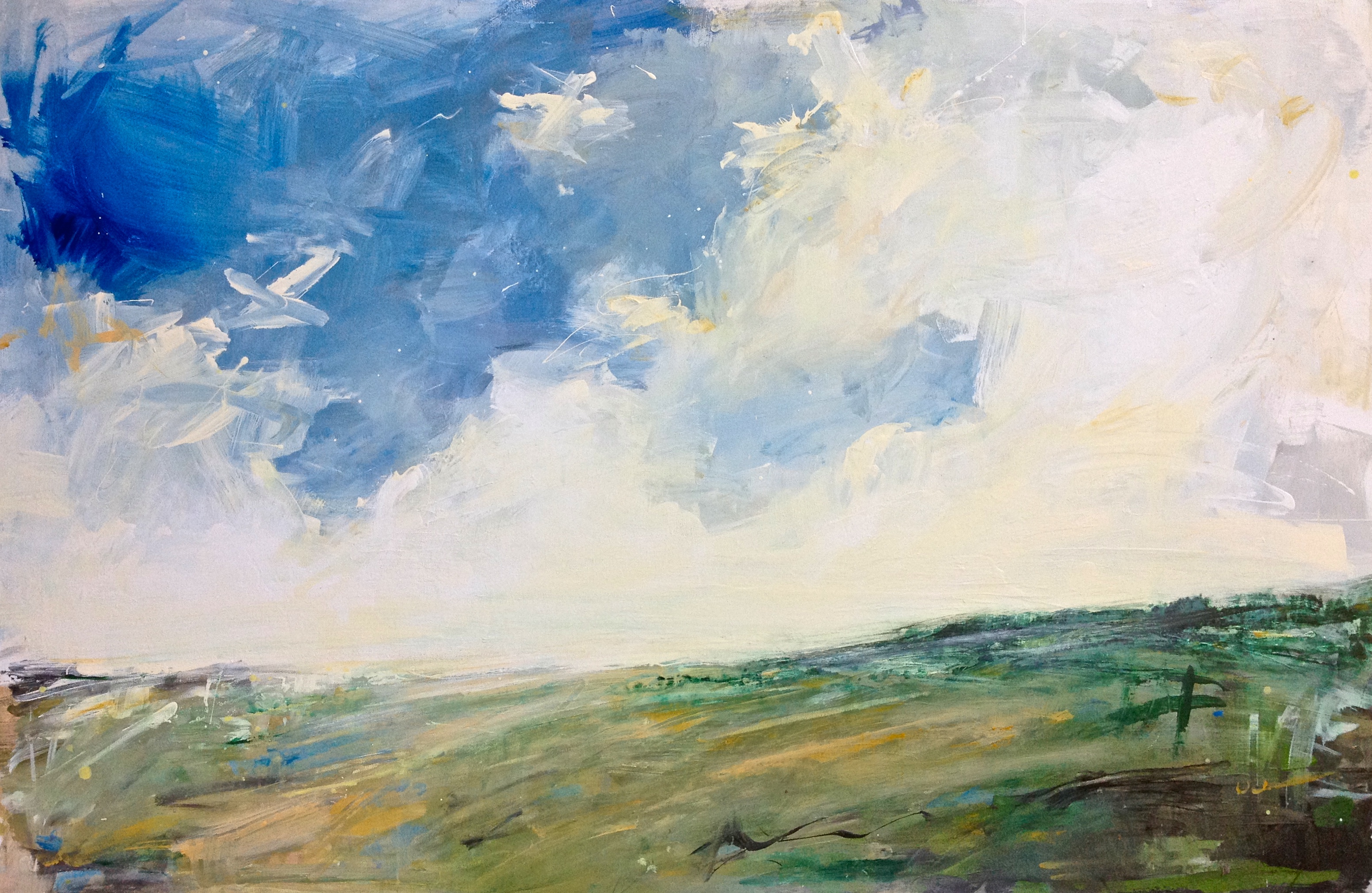 Over the Moor - SOLD