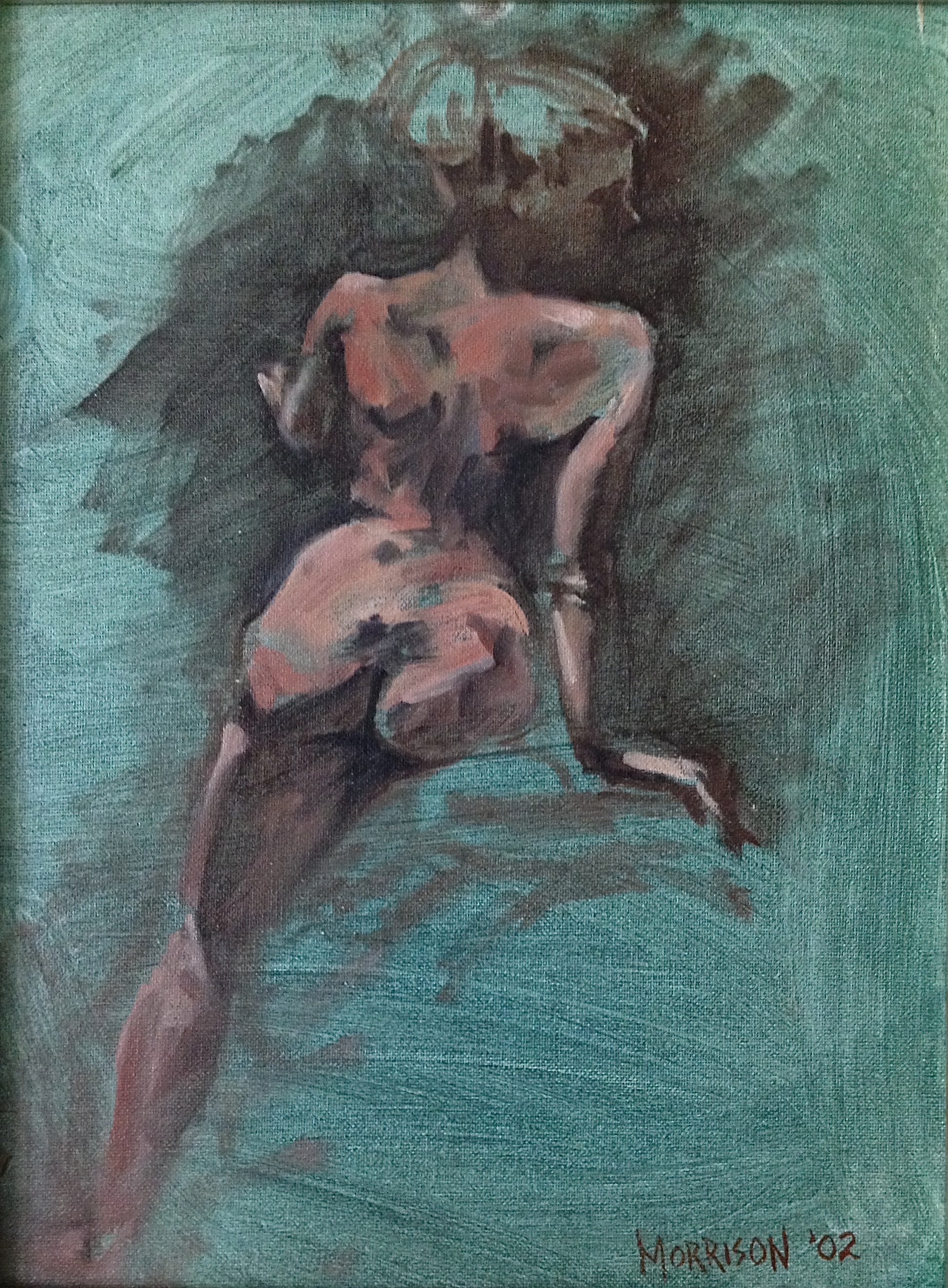 Back of Nude 2 - SOLD