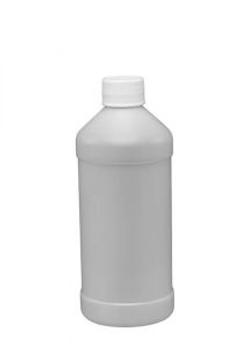 16 oz Modern Round Plastic Bottle with L
