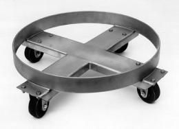 Heavy Duty Stainless Steel Dolly 55 Gall