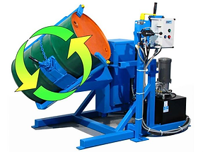 Tilt-To-Load Drum Tumbler - TEFC Motor.p