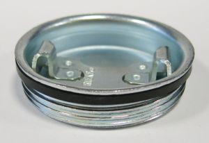 2 Inch Round-Head Drum Plug Zinc Plated.