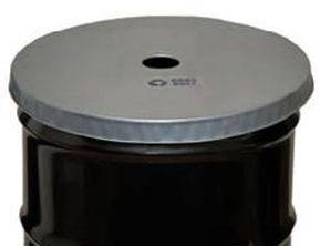 55 Gallon Recycling Drum Lid, Open Head,