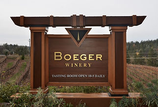 Broger Winery Sign