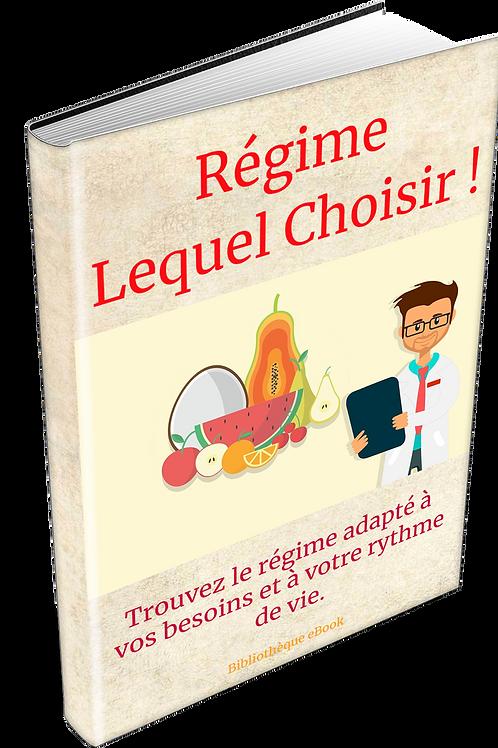 Régime Lequel Choisir  (DRM PDF)