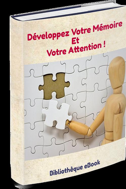 Développez Votre Mémoire Et Votre Attention (DLP PDF)
