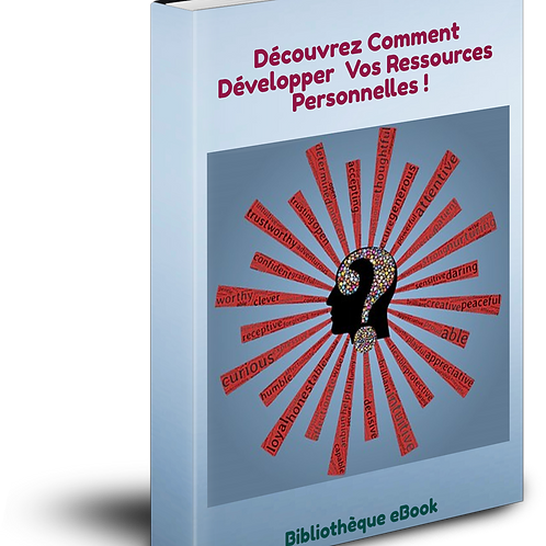 Découvrez Comment Développer vos ressources Personnelles ! (PDF DLP)
