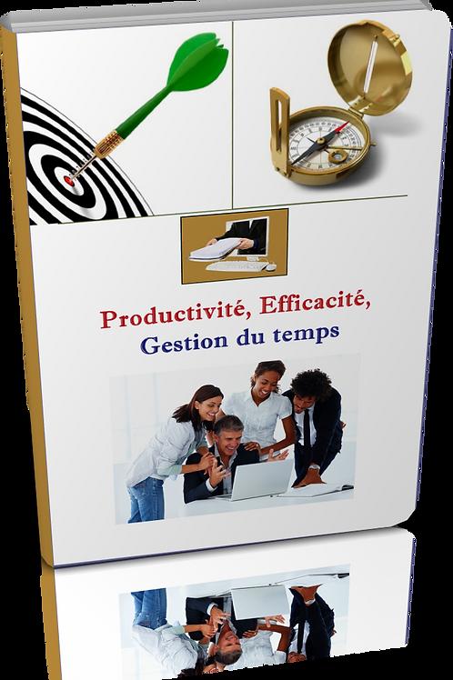 Productivité, efficacité,gestion du temps. (doc Word)