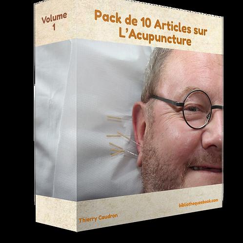 Pack de 10 articles sur L'Art de l'Acupuncture (PDF)