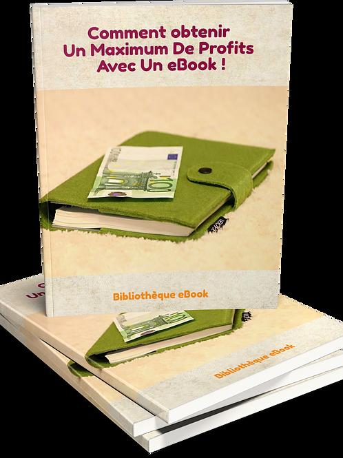 Comment Obtenir Un Maximum De Profits Avec Un eBook (PDF)
