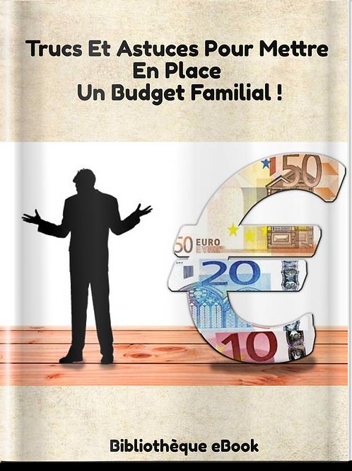 Trucs et Astuces pour mettre en place un budget familial (PDF DLP)
